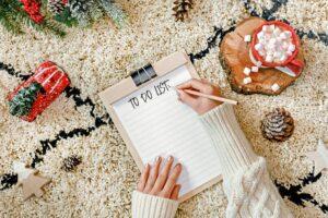 to-do list, Christmas
